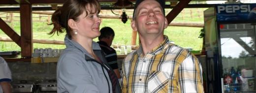 Posezení s Petrem a Evou :-)